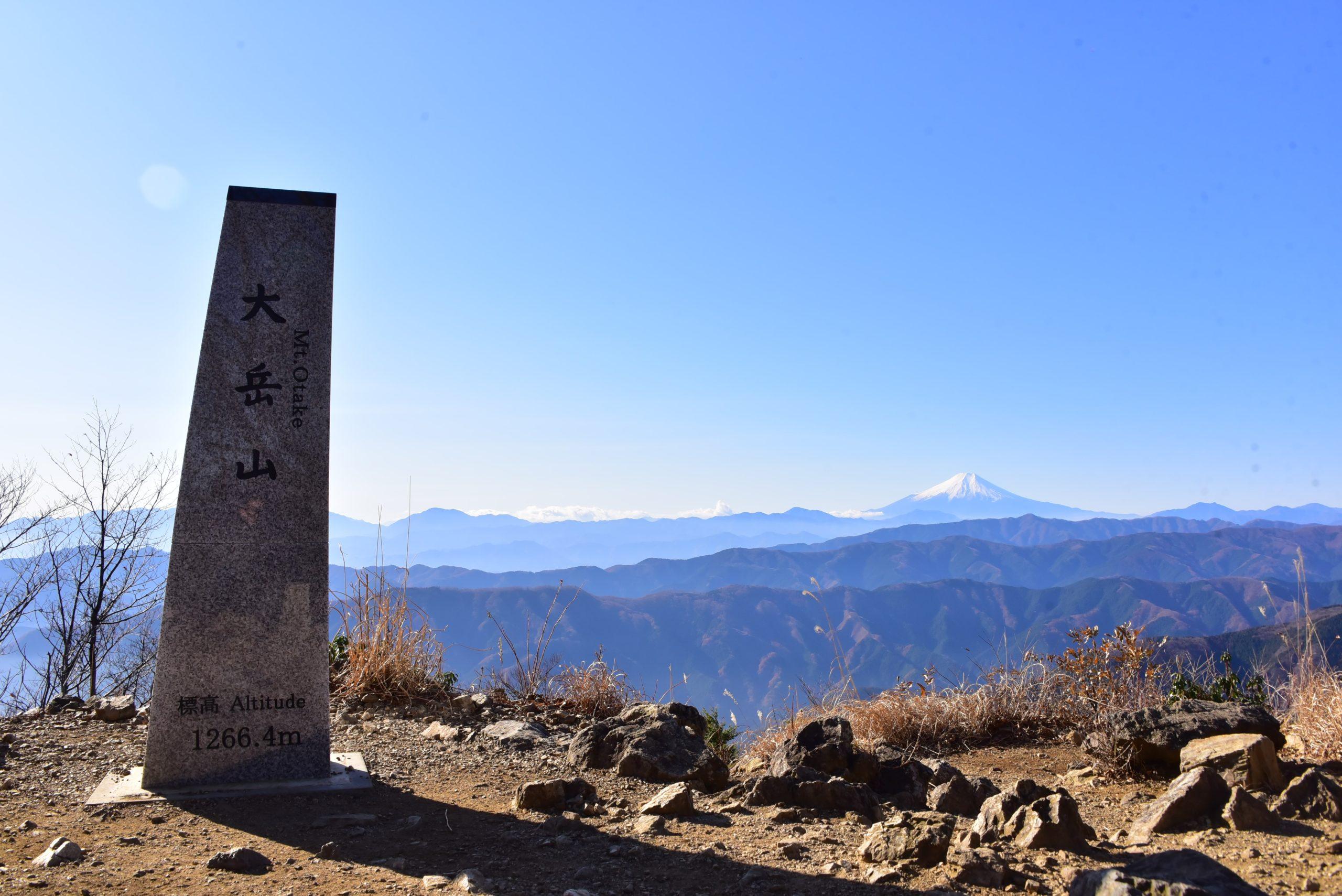 東京バーティカルレース-大岳山